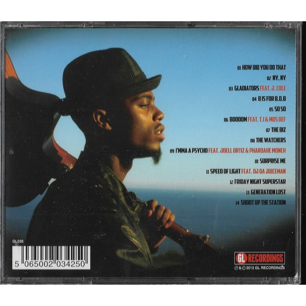 B.O.B. MUSIC FOR THE LOST..
