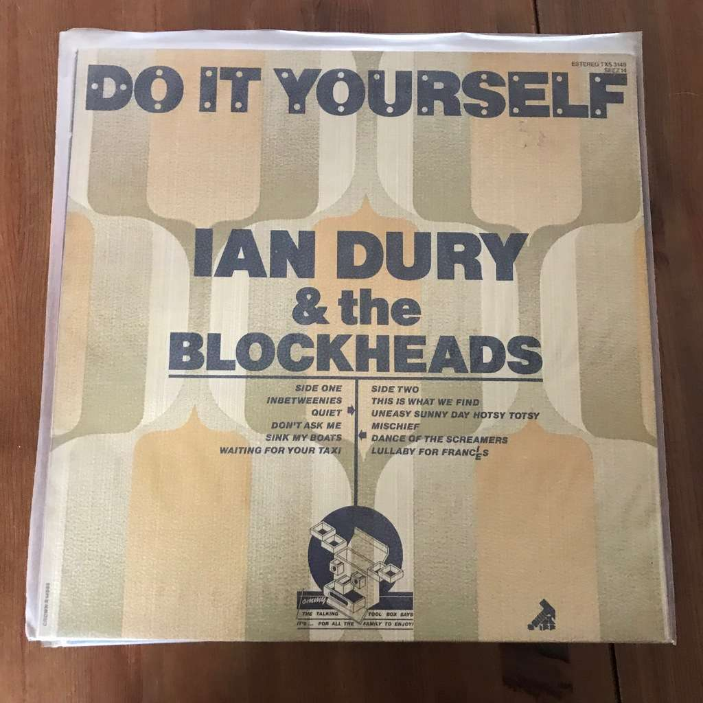 Do it yourself by ian dury the blockheads lp with akasawa ref ian dury the blockheads do it yourself solutioingenieria Gallery