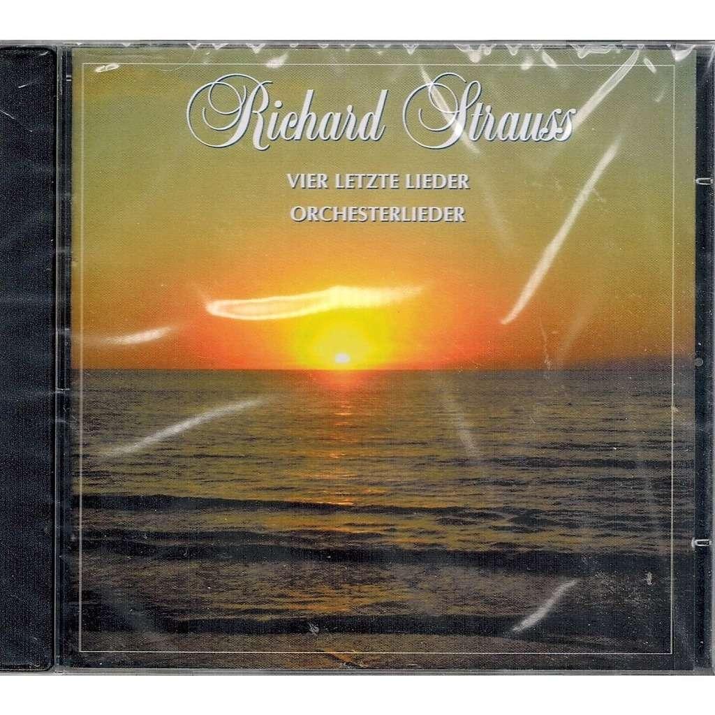 Strauss, Richard Four Last Songs; Orchestral Works / Charlotte Margiono,  Holland Radio PO
