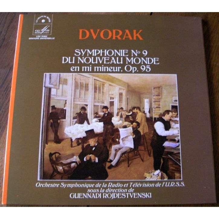 guennadi rojdestvenski dvorak : symphonie n°9 du nouveau monde en mi mineur, Op.95