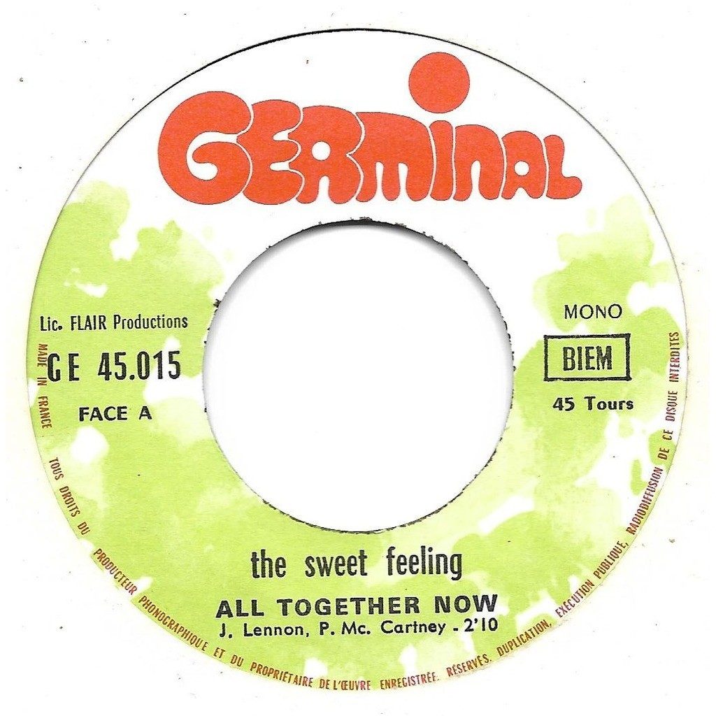 Sweet Feeling (The) / Beatles (The) All together now