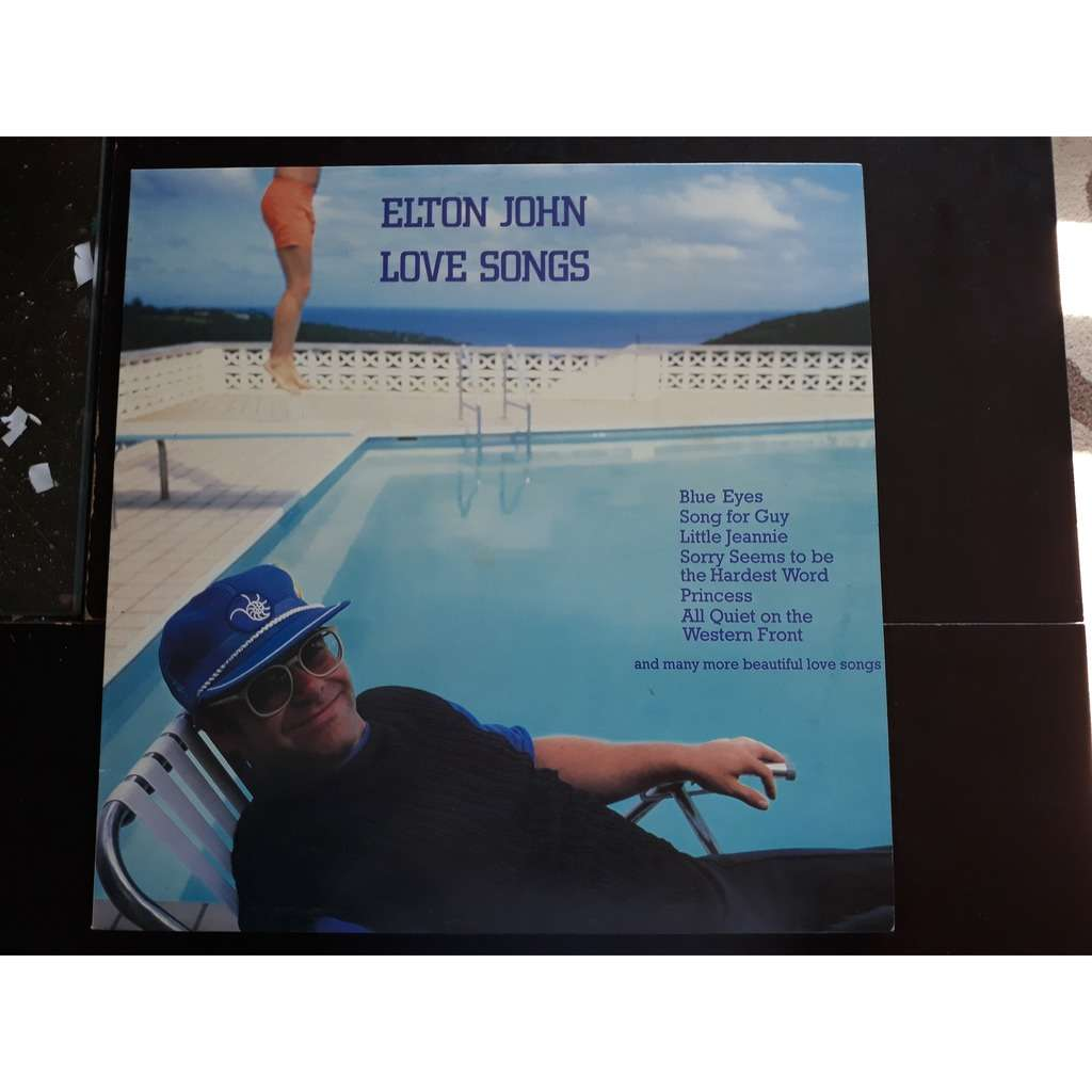 Elton John - Love Songs (LP, Comp) Elton John - Love Songs (LP, Comp)