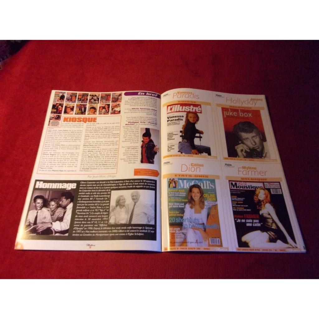LES DIX COMMANDEMENTS PLATINE OCTOBRE 2000