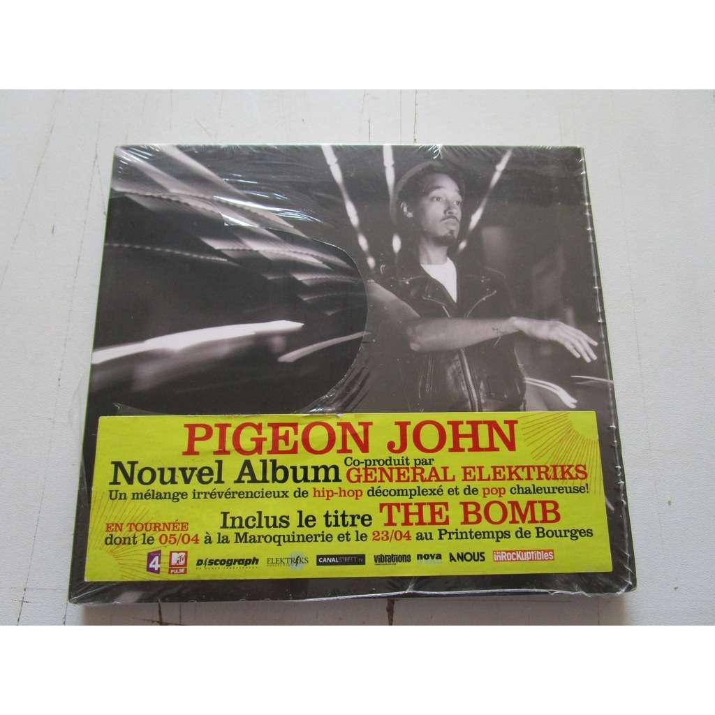 Pigeon John Dragon slayer