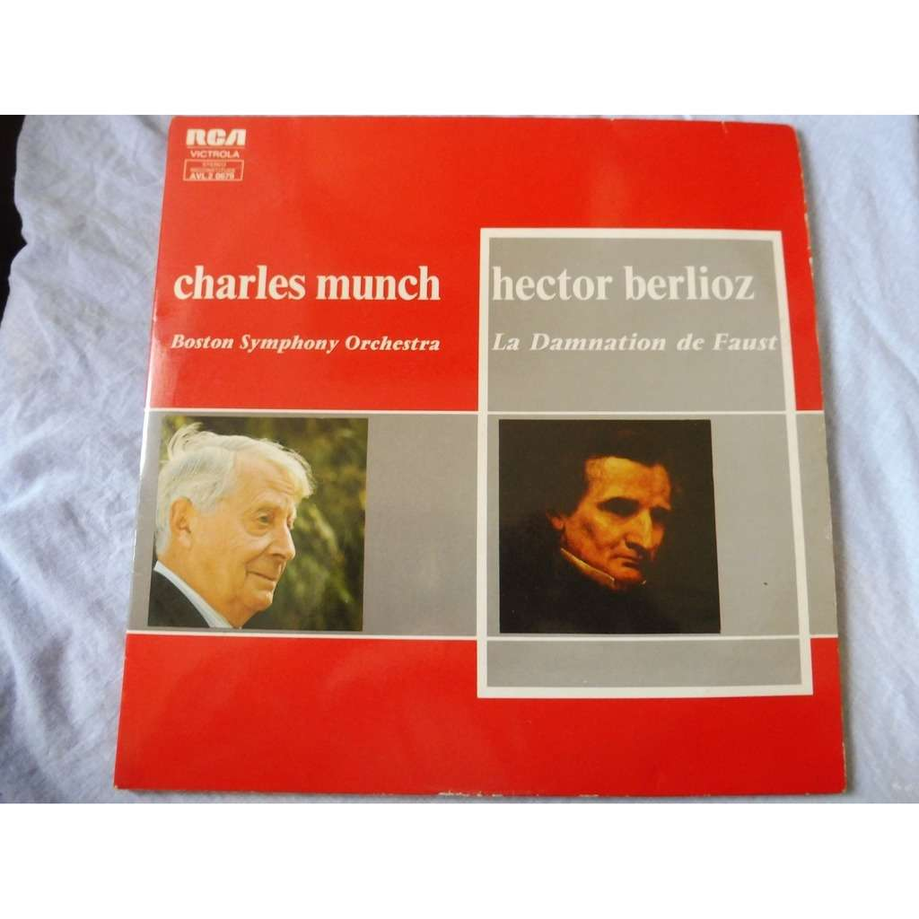 Munch, Charles / Boston Symphony Orchestra Berlioz : La Damnation de Faust op.24 with suzanne danco, david poleri, martial singher