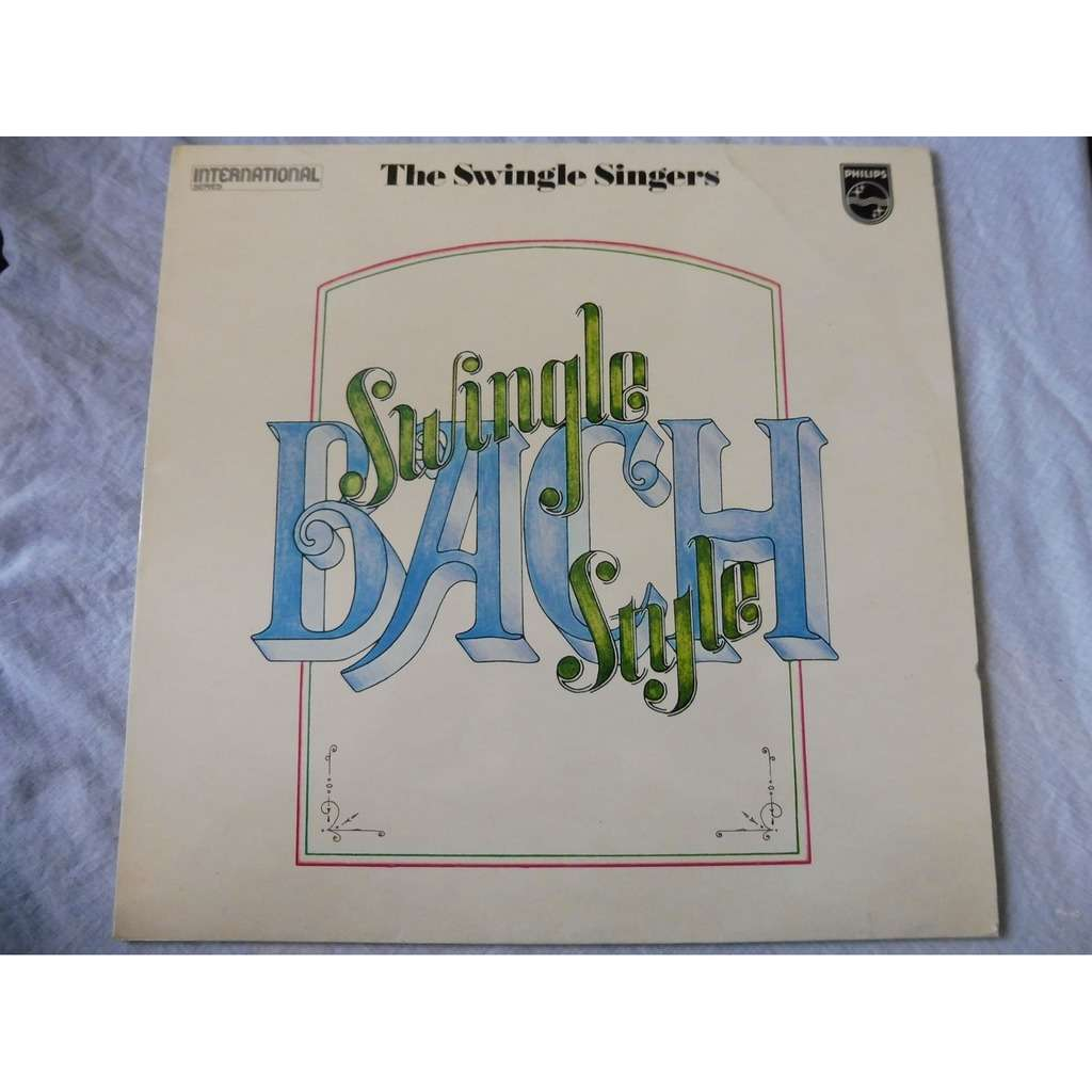 SWINGLE SINGERS bach - swingle style - ( stéréo near mint condition )