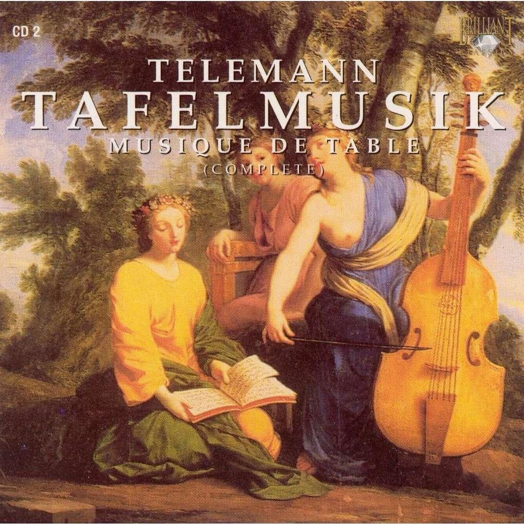 Telemann, Georg Philipp Tafelmusik (Complete), Disc 2 / Musica Amphion, Pieter-Jan Belder