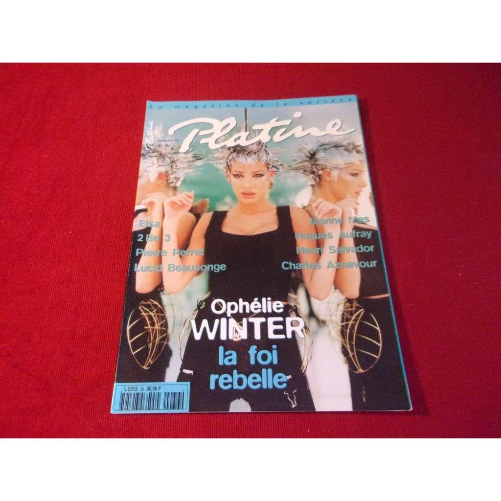 ophelie winter PLATINE DECEMBRE 1996