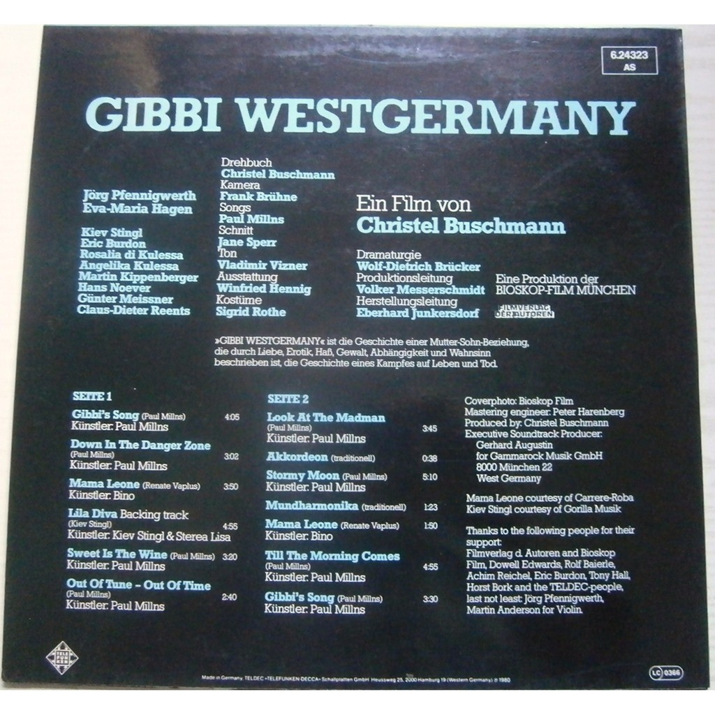paul millns gibbi westgermany