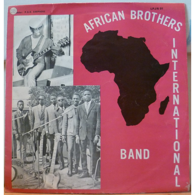 AFRICAN BROTHERS INTERNATIONAL BAND S/T - Gyae su