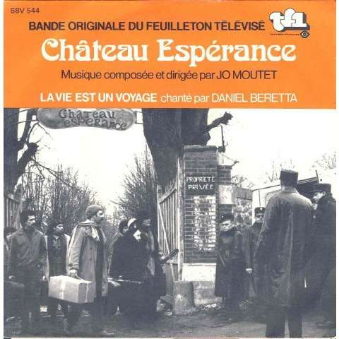 Jo MOUTET / Daniel BERETTA Château espérance (original French press - Music of the TV serie -