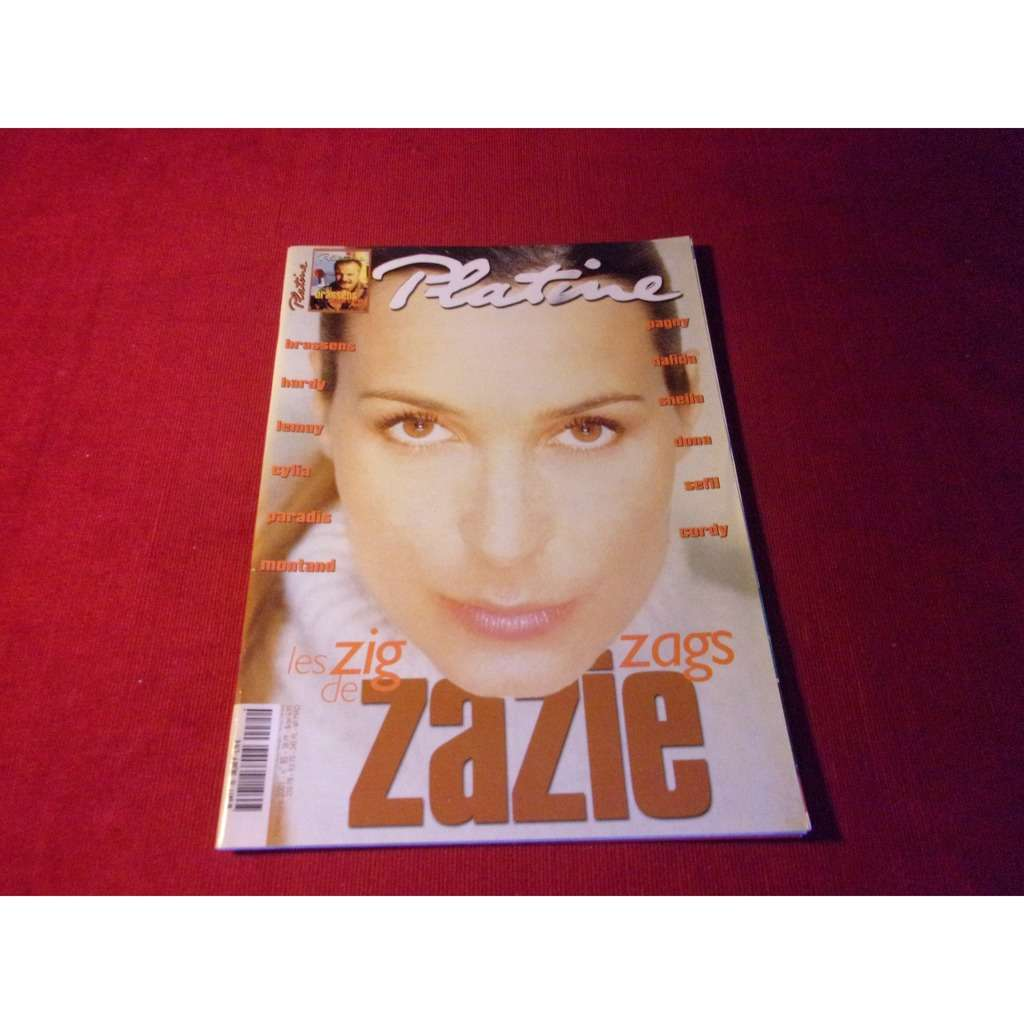 ZAZIE PLATINE NOVEMBRE 2001