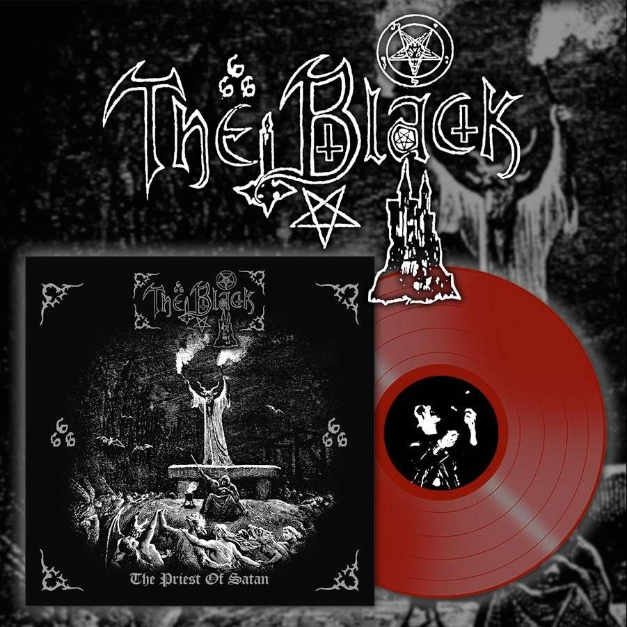 THE BLACK The Priest of Satan. Red Vinyl