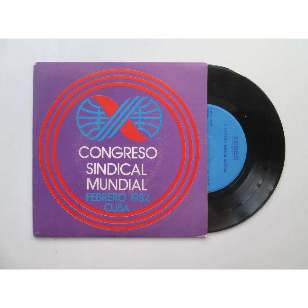 tony tano / orquestra egrem congreso sindical mundial