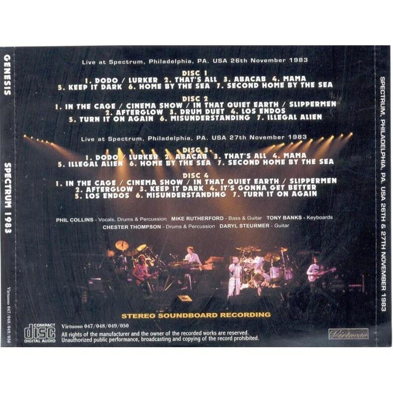 genesis Spectrum 1983 (Philadelphia PA USA 26-27.11.1983)