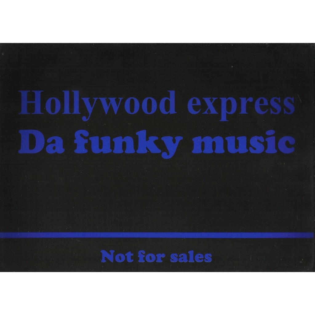 WELCOME at Hollywood - e.p. 2 tracks - (Hollywood express - da funky music)