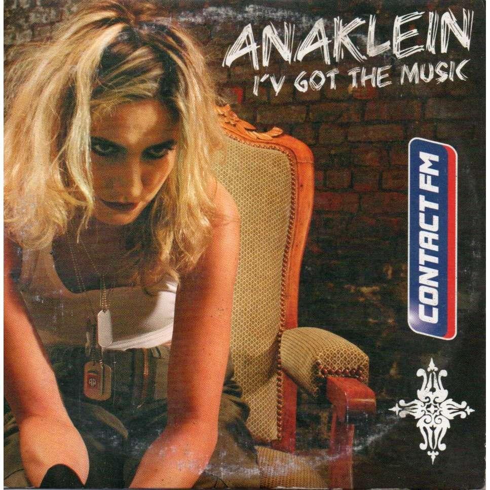 anaklein i've got the music
