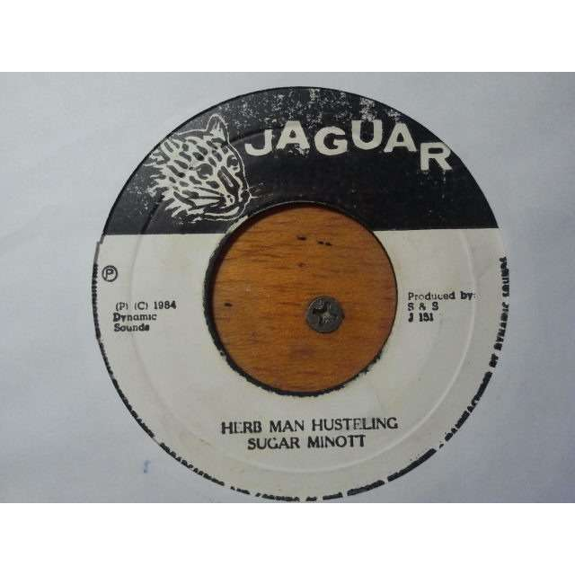 SUGAR MINOTT HERB MAN HUSTING / VERSION ORIG.