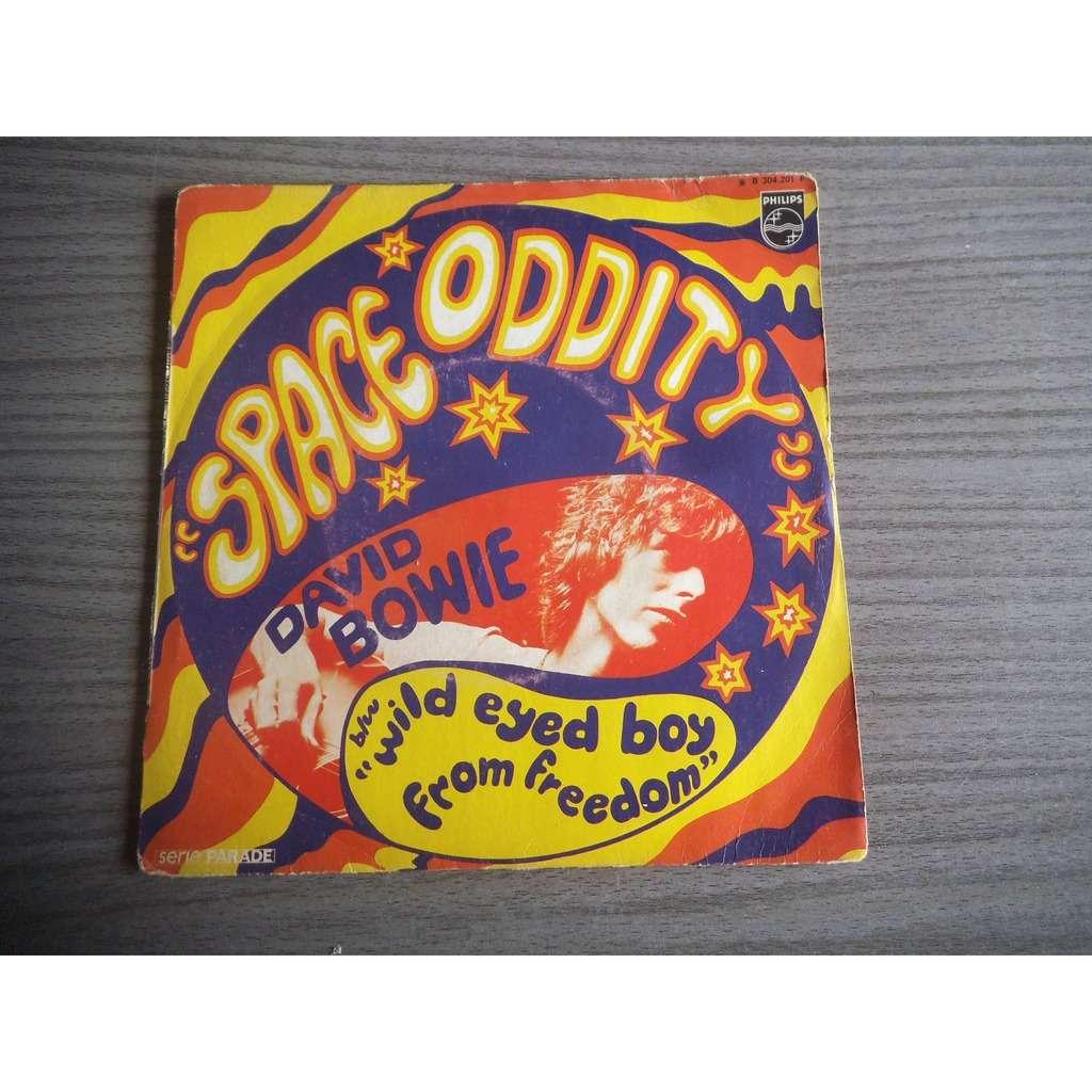 David Bowie Space Oddity / wild eyed boy from free cloud