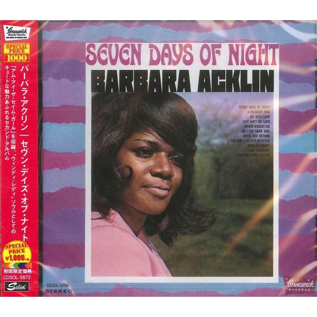 Barbara Acklin Seven Days of Night