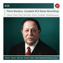 Pierre Monteux The Complete RCA Stereo Recording (8CD)