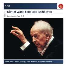 Gunter Wand BEETHOVEN- The Symphonies (5CD)