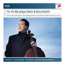 Yo-Yo Ma Cello plays Bach & Boccherini (6CD)