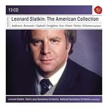 LEONARD SLATKIN THE AMERICAN COLLECTION (13CD)