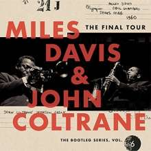 Miles Davis & John Coltrane FINAL TOUR (4CD)