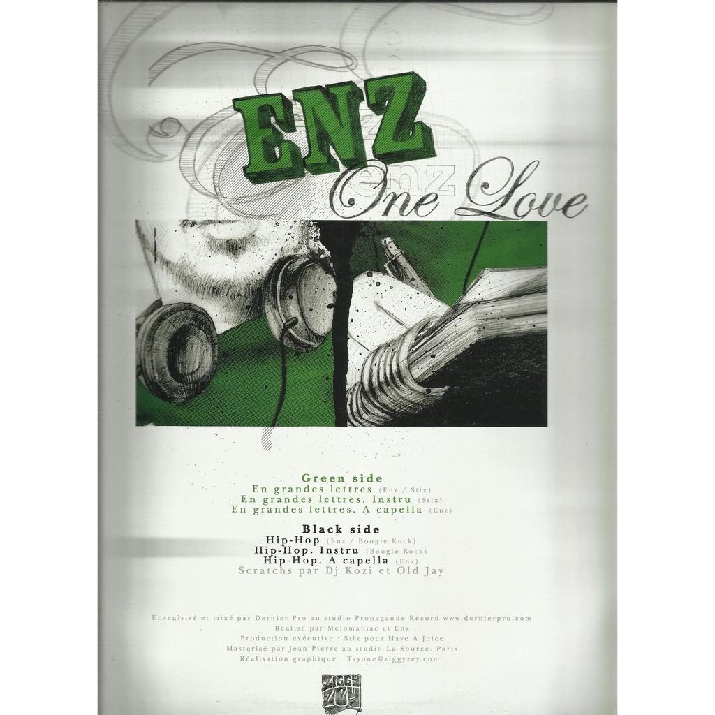 ENZ one love - 6 tracks - (en grandes lettres - 3mix / hip hop - 3mix)