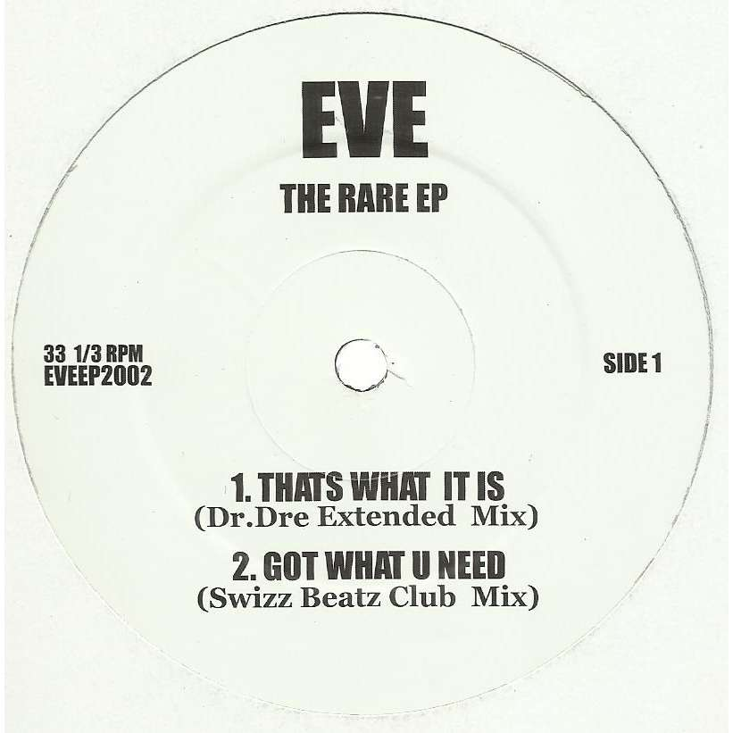 EVE the rare EP - 5 tracks