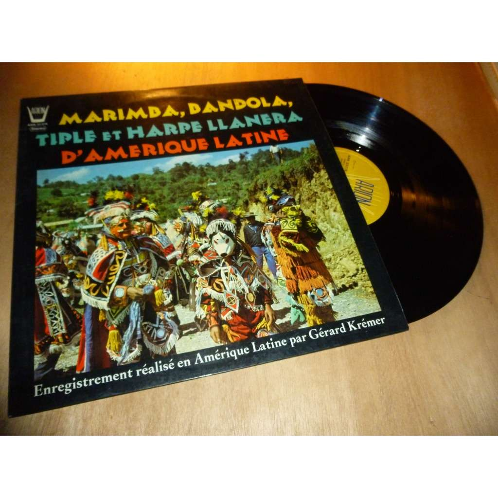 GERARD KREMER marimba, bandola, tiple et harpe llanera d'amérique latine