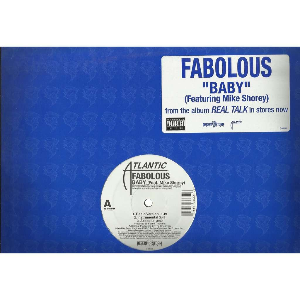 FABOLOUS baby - 3mix (feat. Mike Shorey) / round and round - 3mix
