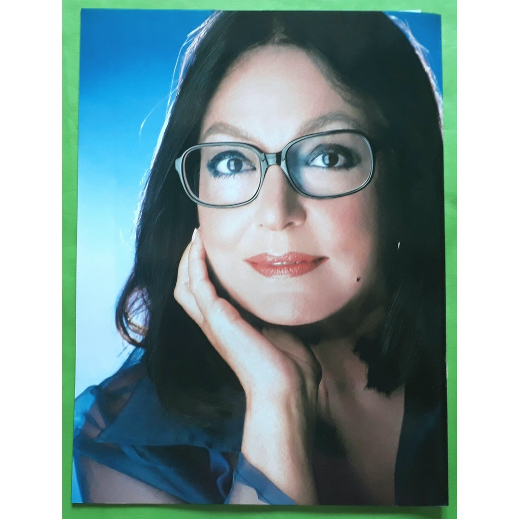 NANA MOUSKOURI TOUR PROGRAMME-(Limited édition)(Tour programme)(Original)(Universal)(France)
