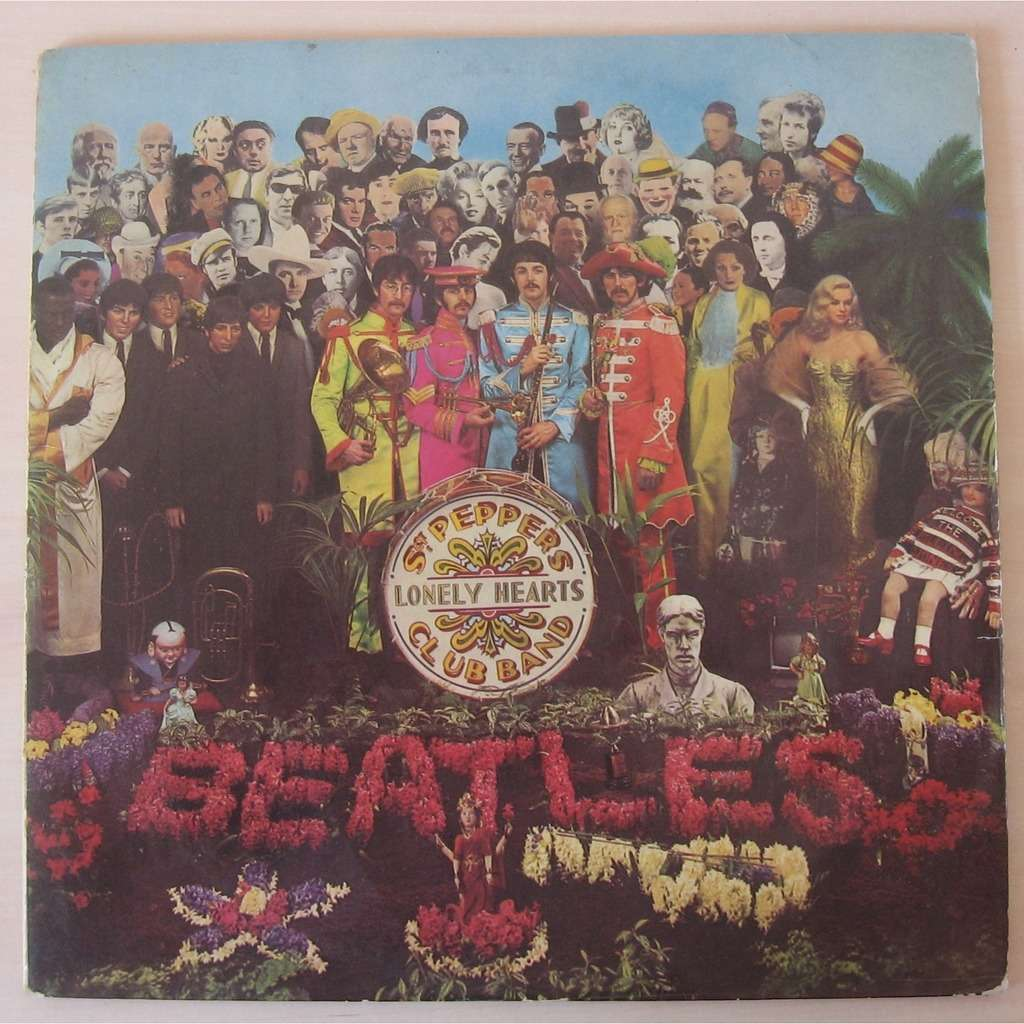 the beatles sgt. peppers lonely hearts club band