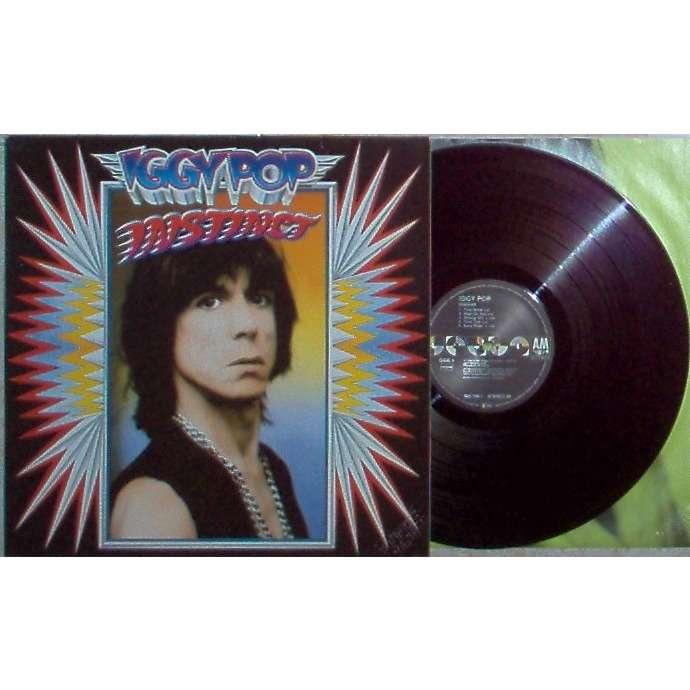 Iggy Pop Instinct (Italian 1988 promo 10-trk LP ps+inner slv!)