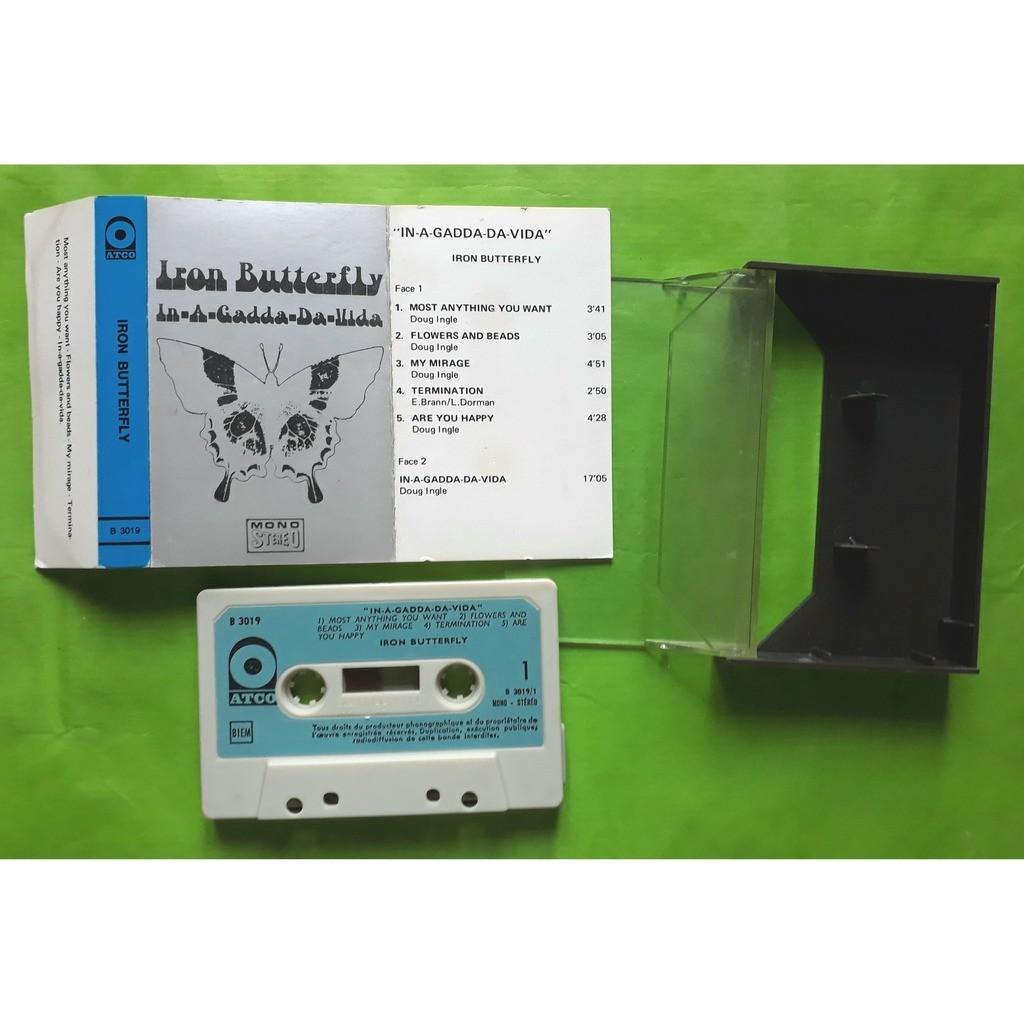 IRON BUTTERFLY IN-A-GADDA-DA-VIDA-(Album cassette audio)(Original)(Atco)(France).