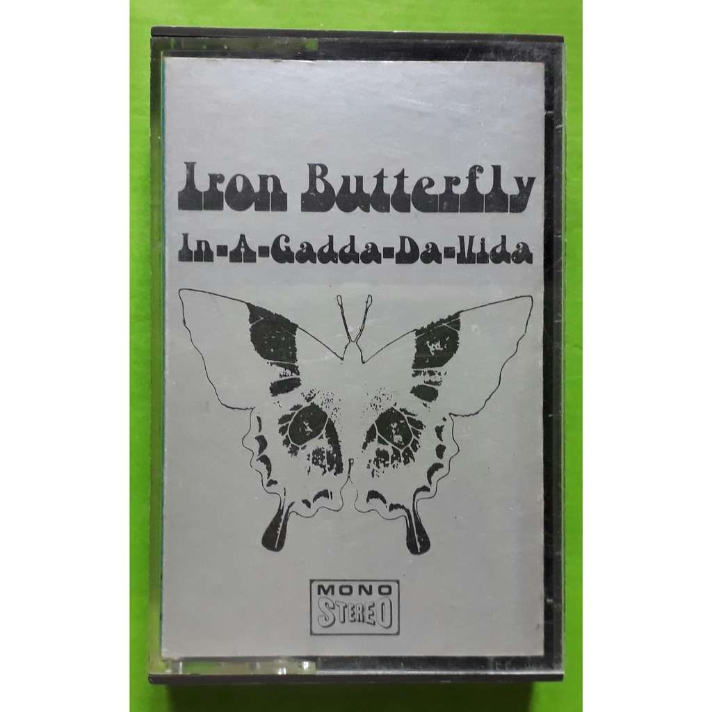 IRON BUTTERFLY IN-A-GADDA-DA-VIDA-(Album cassette audio)(Original)(Atco)(France).
