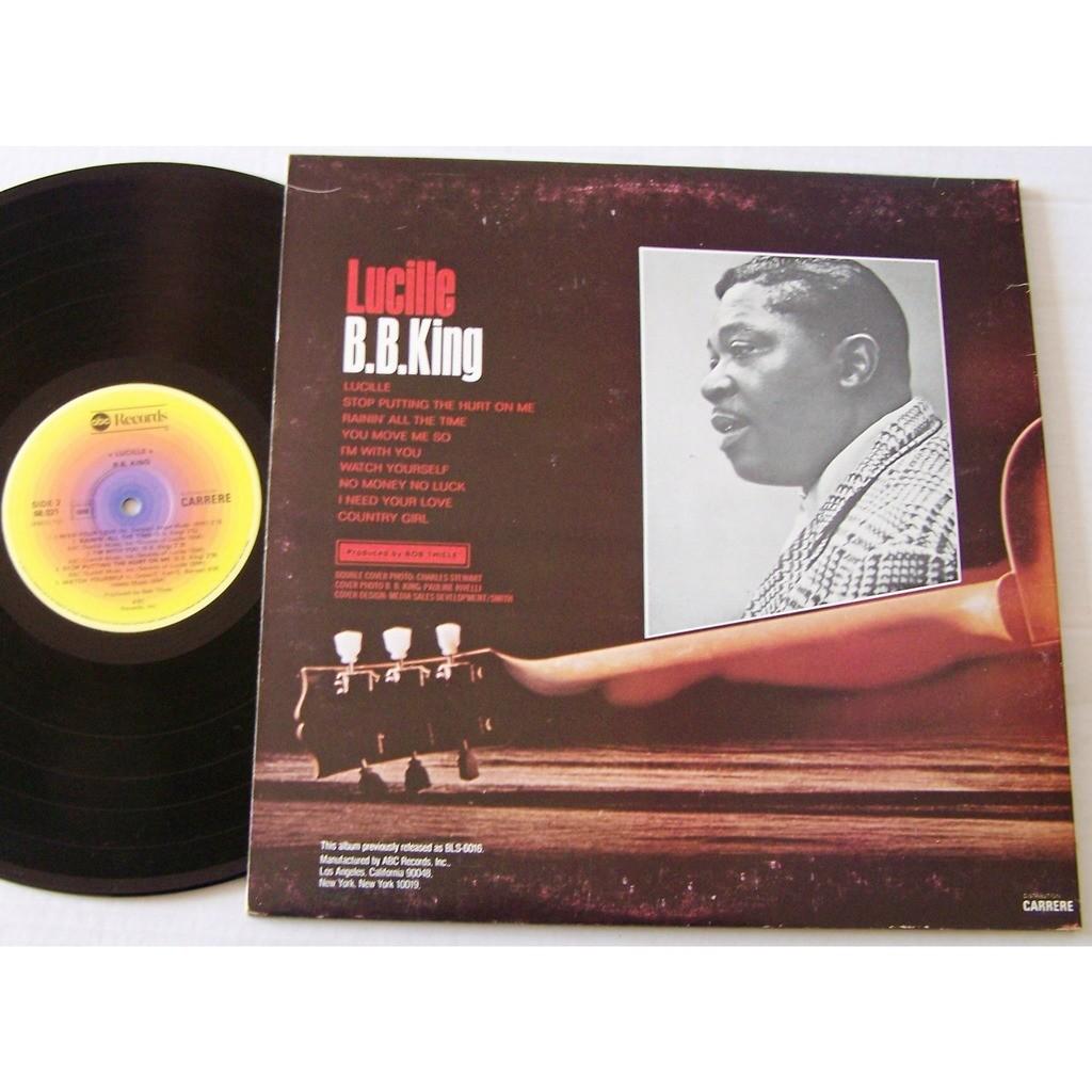B.B king lucille