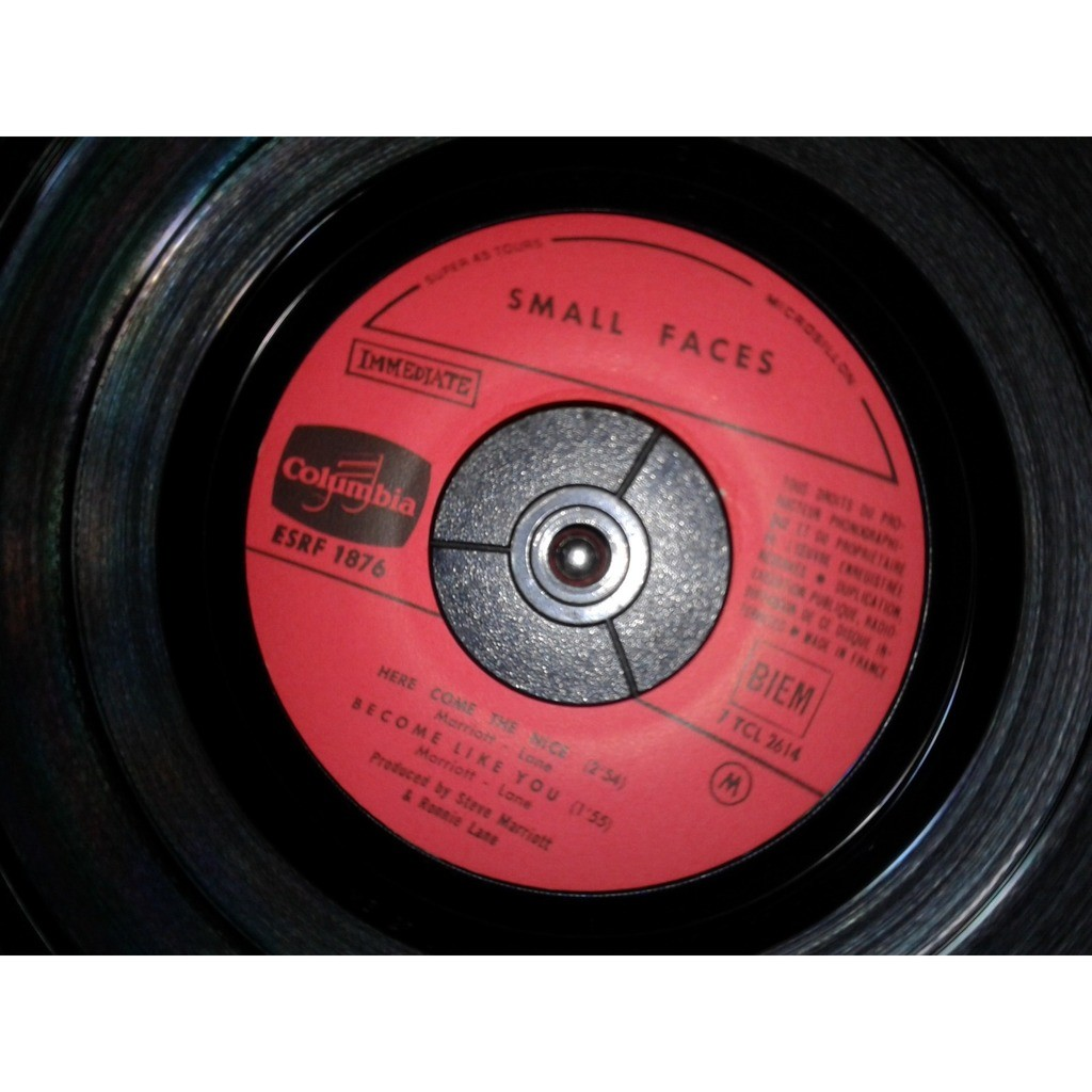 Small Faces Here Come The Nice ( FRENCH EP)