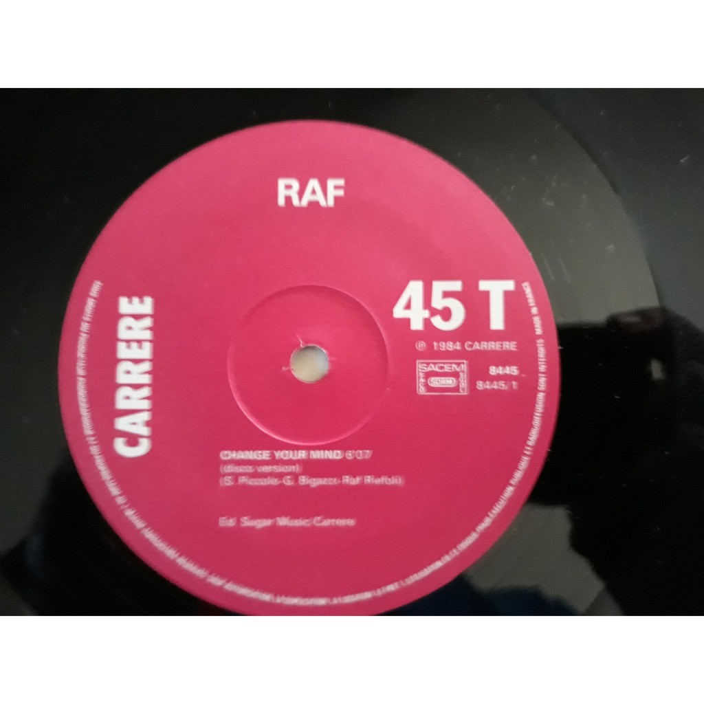 Raf (5) - Change Your Mind (12) Raf (5) - Change Your Mind (12)