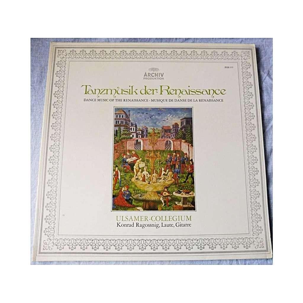 Konrad Ragossnig Dance music of the Renaissance - Works by Gulielmus, de la Torre, Attaingnant, Neusiedler, Mudara