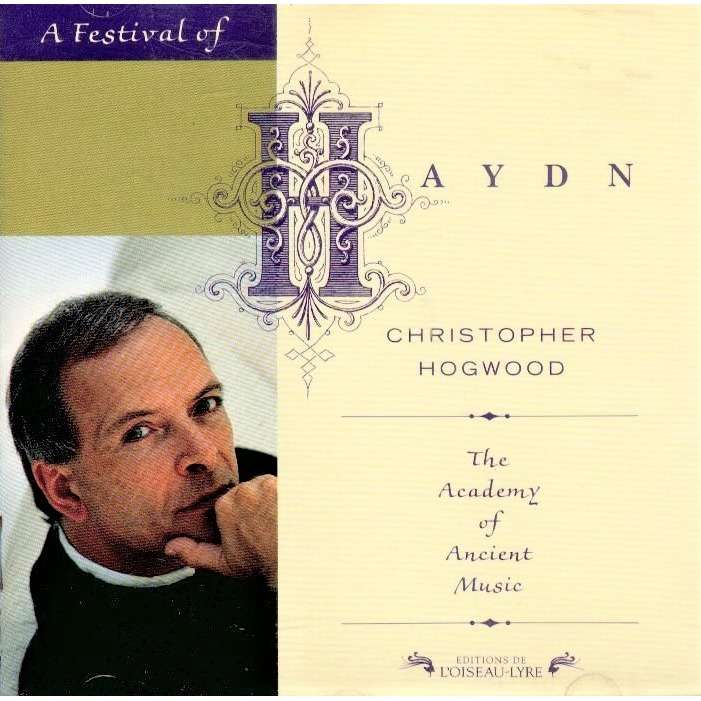 Christopher Hogwood - The Academy of Ancient Music Haydn: Trumpet Concerto in E flat major; Cello Concerto in C major; Symphony N.104 D major, LONDON