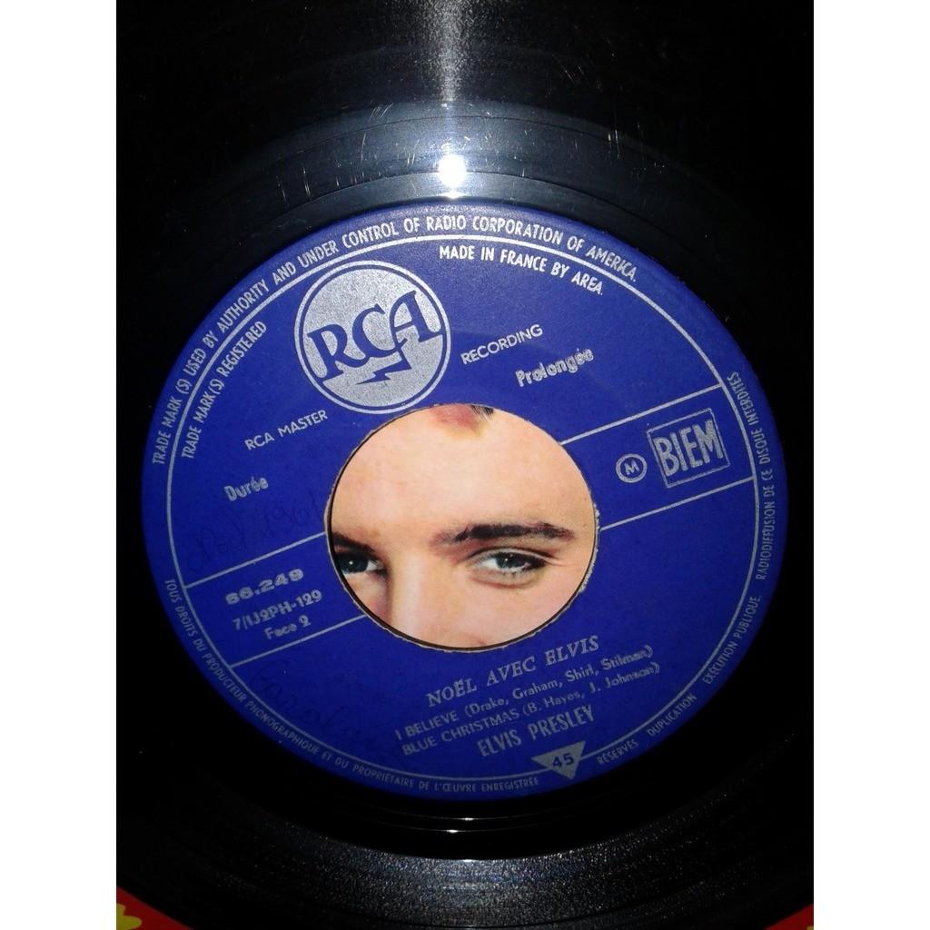 elvis presley noel avec elvis 1960