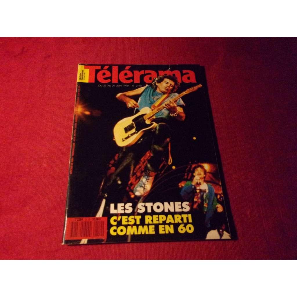the rolling stones TELERAMA JUIN 1990