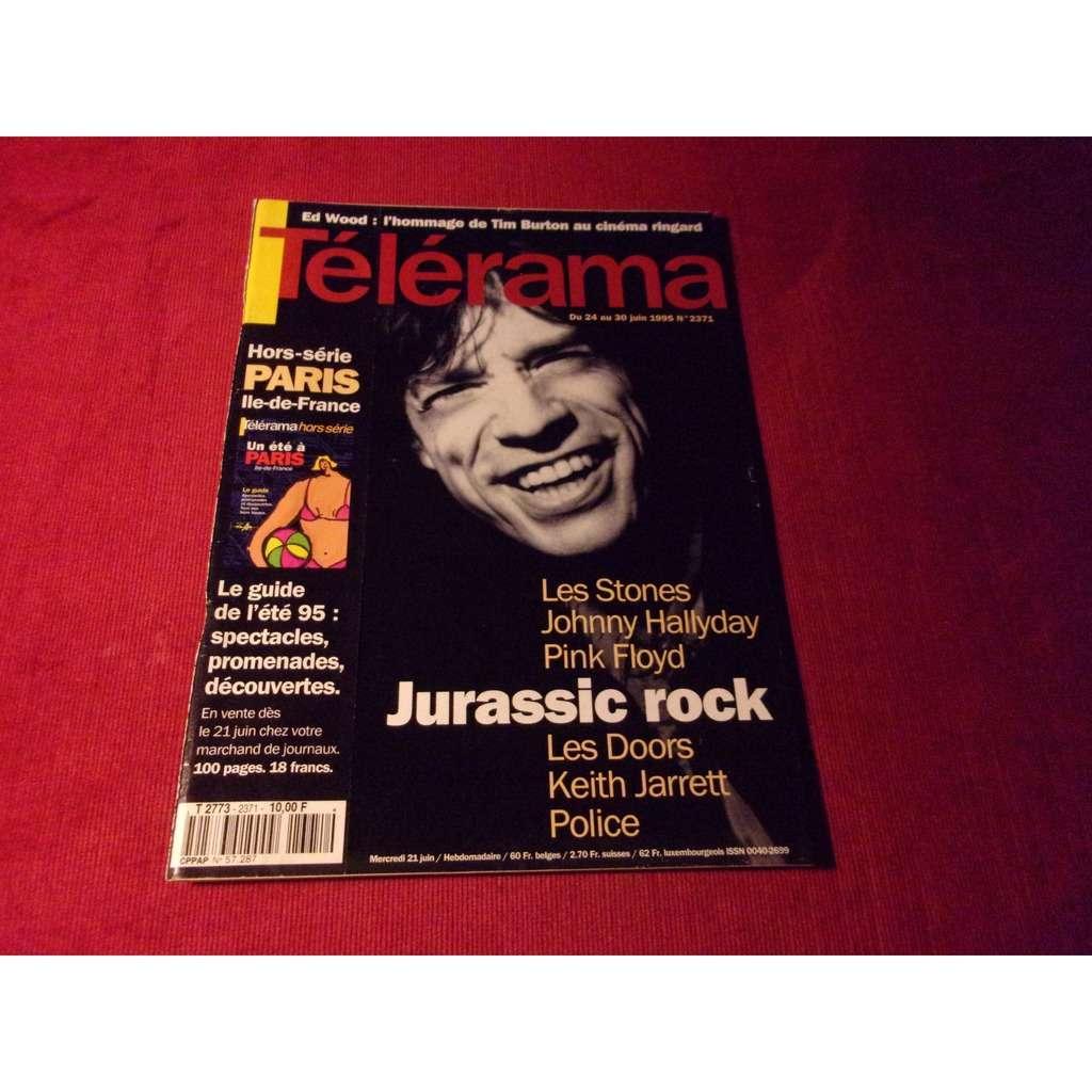 the rolling stones TELERAMA JUIN 1995
