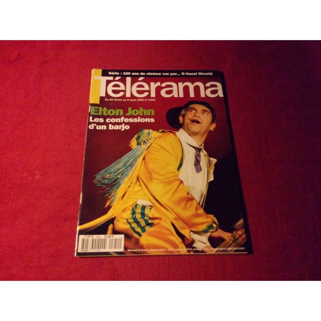 elton john TELERAMA MARS 1995