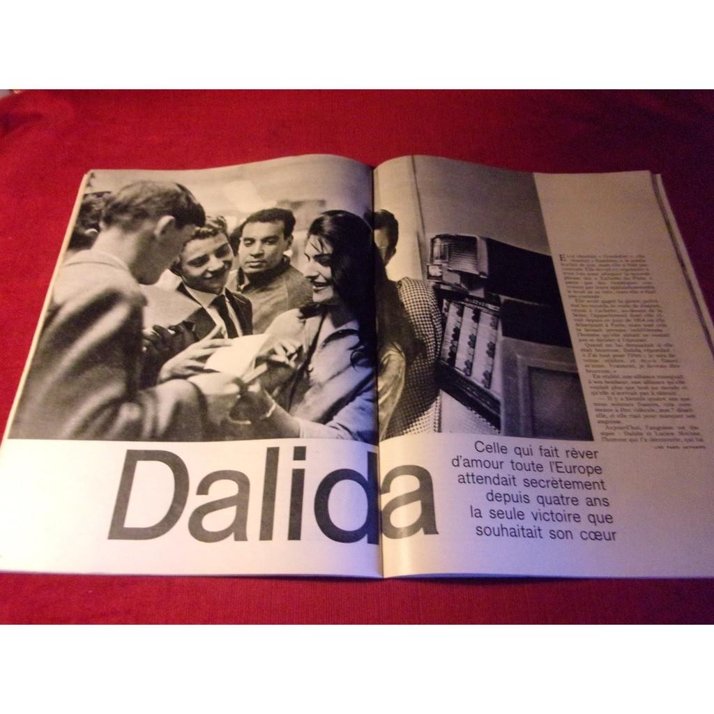 DALIDA JOUR DE FRANCE AVRIL 1961