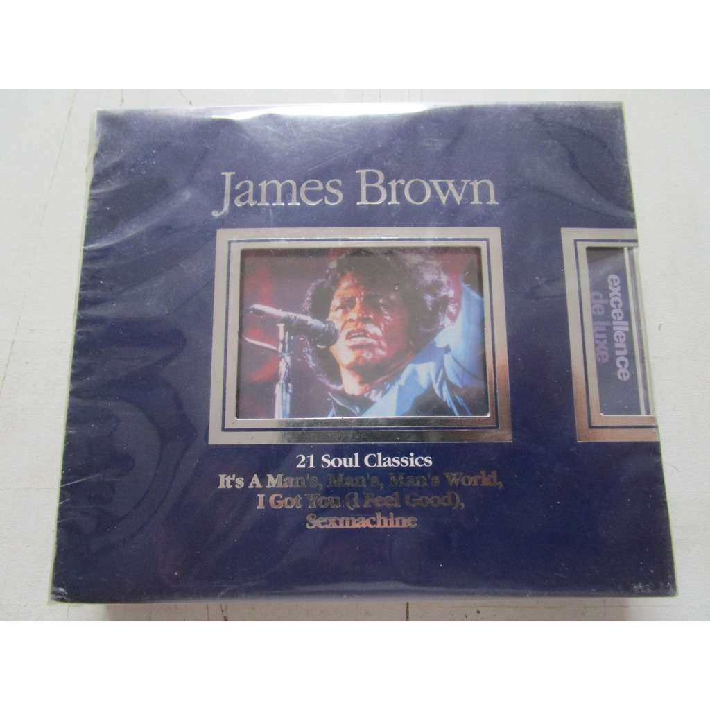James Brown 21 soul classics