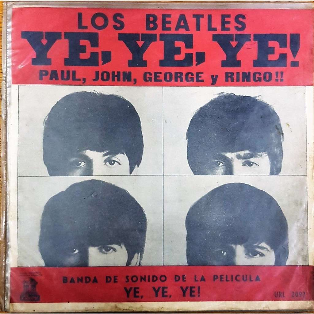 Los Beatles Ye, Ye, Ye ! (Uruguay 1964 original 12-trk 'mono' LP on Odeon  lbl absolutely unique ps!!)